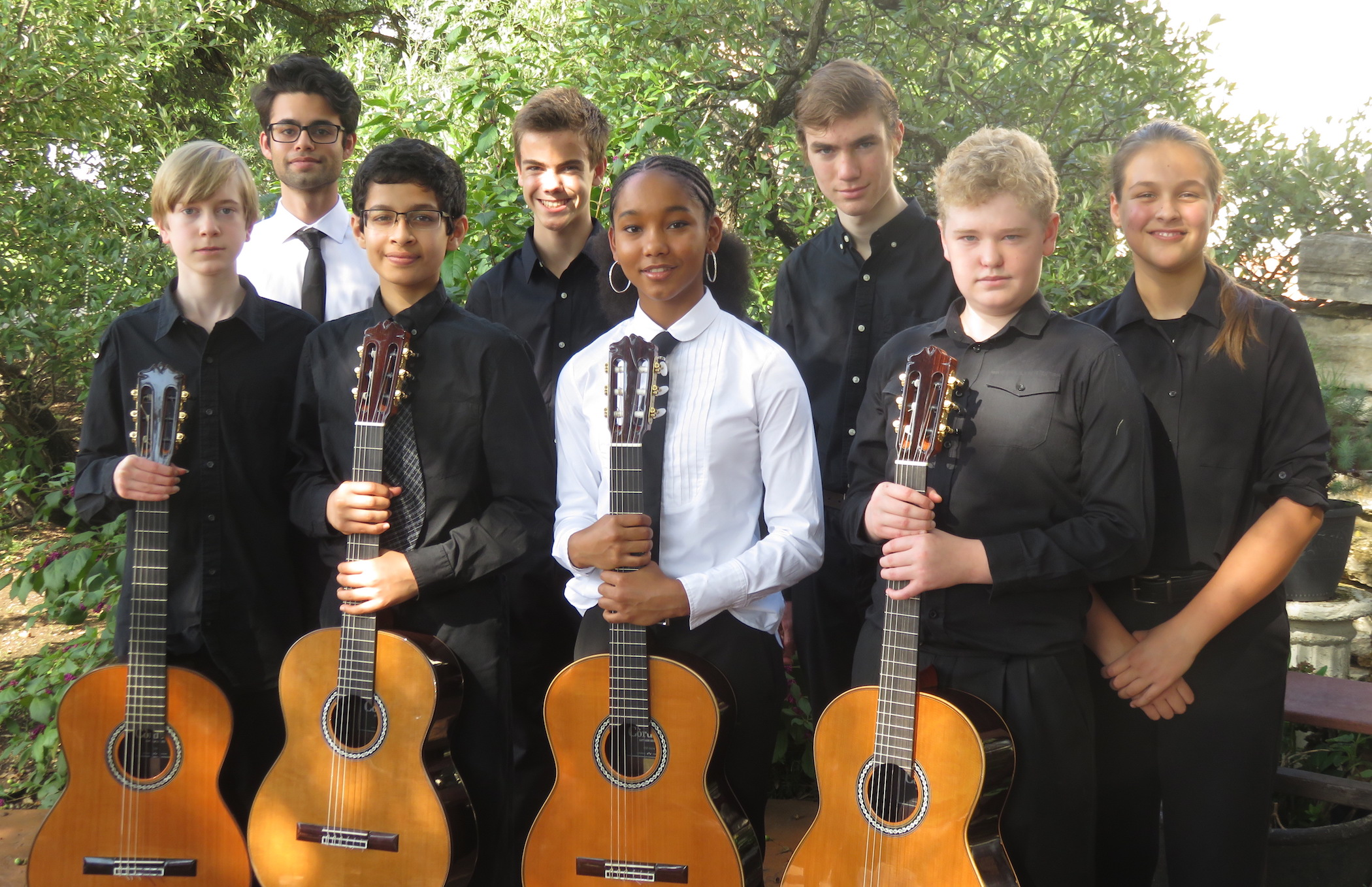 Childbloom Teenage Group Wins 1st Place in Hill Country Guitar Ensemble Festival